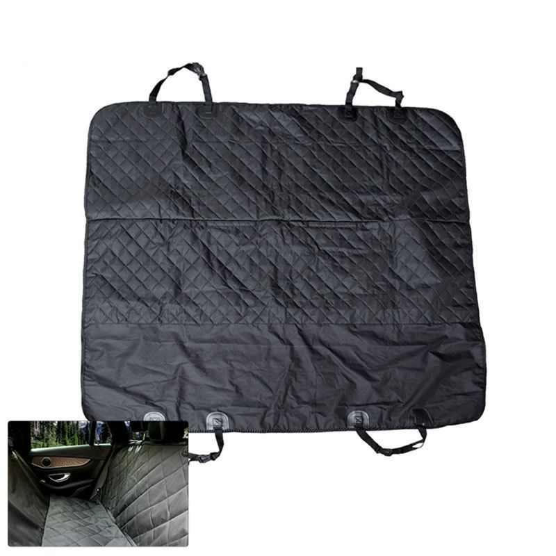 Car Supplies Luxury Full Protector Back Seat Pet Pad Car Waterproof Oxford Cloth Mat