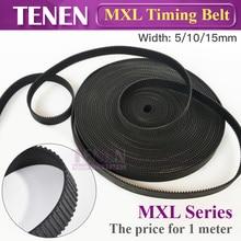 HTD MXL-5 ремень ГРМ ширина 5 10 15 мм MXL037 шаг открытый Трансмиссия резиновые ремни для CO2 лазерной гравировки резки