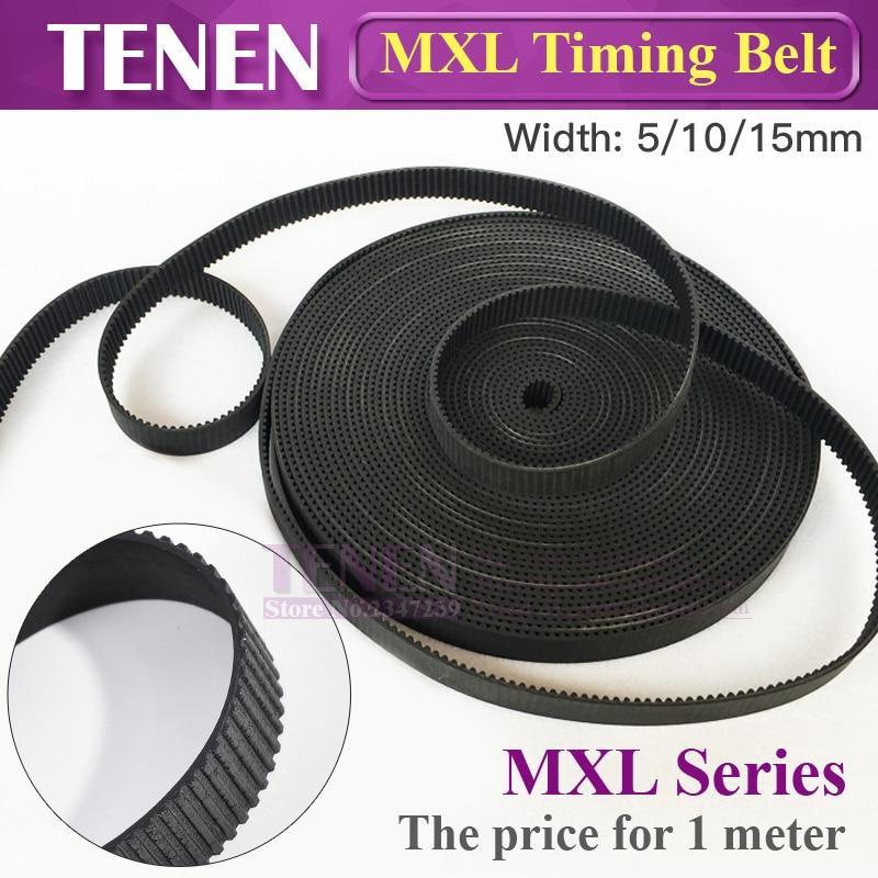 HTD MXL-5 Timing Belt Width 5 10 15mm MXL037 Pitch Open-Ended Transmission Rubber Belts For CO2 Laser Engraving Cutting MachineHTD MXL-5 Timing Belt Width 5 10 15mm MXL037 Pitch Open-Ended Transmission Rubber Belts For CO2 Laser Engraving Cutting Machine