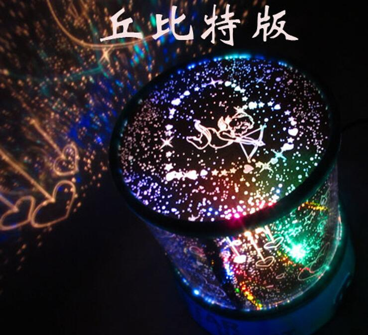 NEW Cupid creative sky lights glowing projector colorful all over sky star romantic valentine day gifts Party noctilucent props