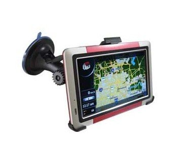 5.0 inch TFT Touch-screen Car GPS Navigator Support SD Card, Bluetooth, FM Transmitter, Built-in speaker, AV in port With Map