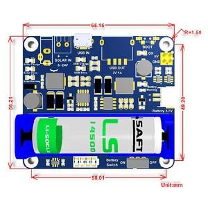 Image 5 - פנל סולארי אספקת חשמל לוח ניהול מודול ליתיום סוללה 6V 24V שמש טעינת מוסדר מטען MPPT USB כוח מתאם