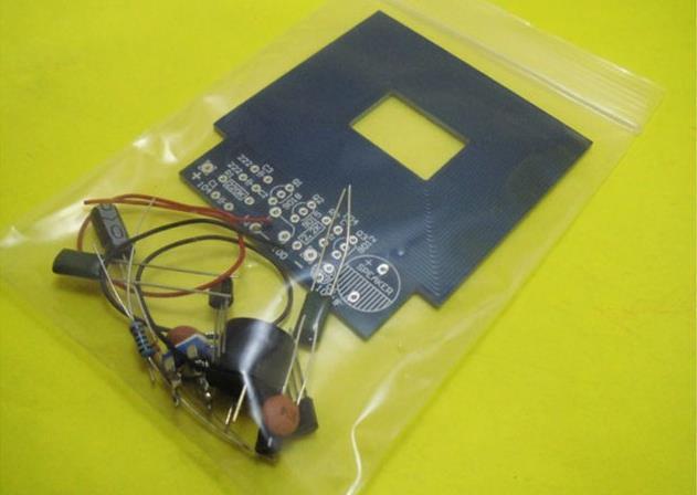 Free Shipping Metal Detector Diy Kit Simple Portable Metal Detector