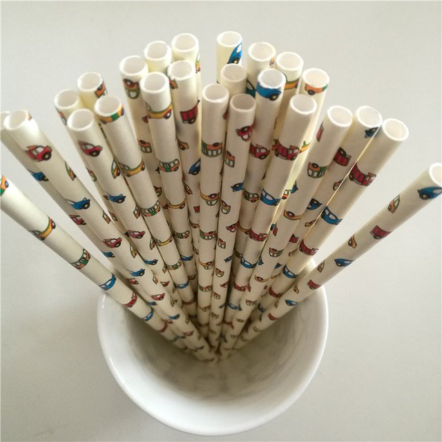 Eco-Friendly Paper Party Straw