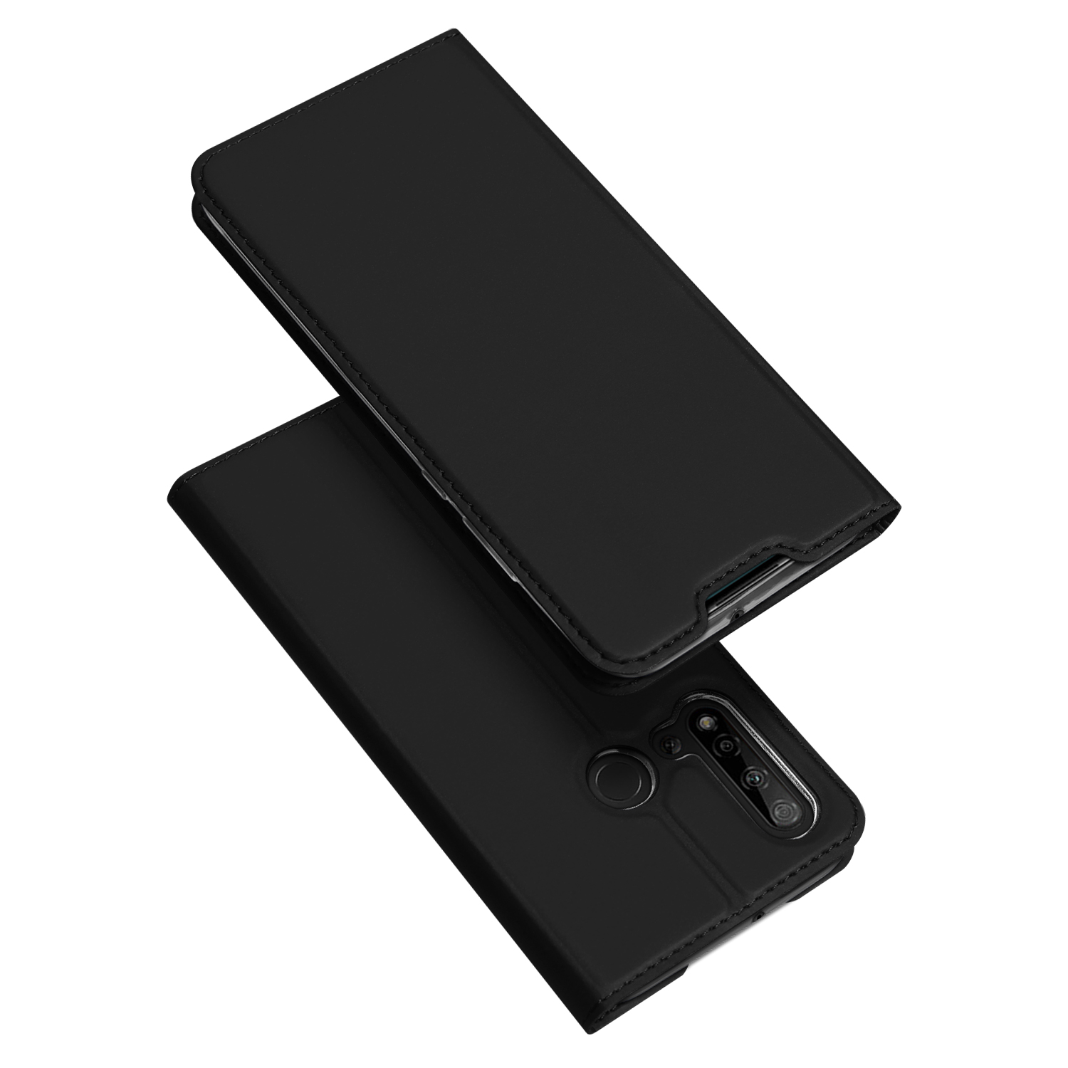 Flip Case For Huawei Nova 5i P20 Lite 2019 PU Leather TPU Soft Bumper Protective Card Slot Holder Wallet Stand Phone Cover in Flip Cases from Cellphones Telecommunications