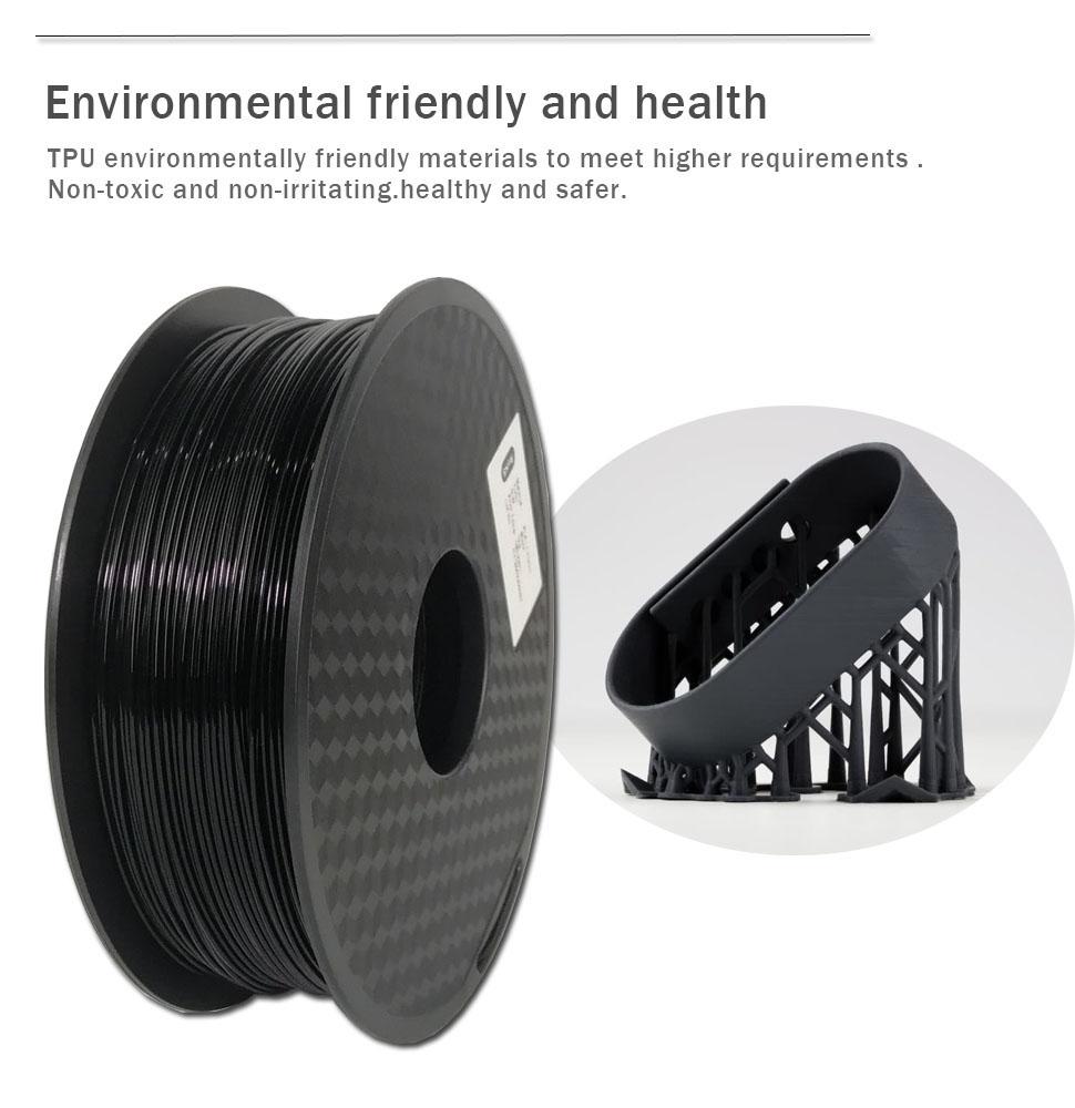 Flexible 3D Printing Filament/TPU Filament for 3D Printer