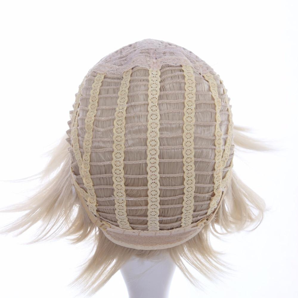 cctoo 12 ιντσών ανοιχτό χρυσό σύντομο - Συνθετικά μαλλιά - Φωτογραφία 6