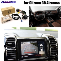Liandlee Parkplatz Kamera Interface Umge Back Up Kamera Kits Für Citroen C5 Aircross Display Upgrade