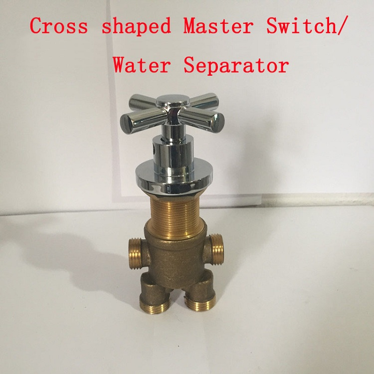 Mlfalls Shower Faucets Brass Thermostatic Mixing Valve: Wholesale Shower Room Mixing Valve Chrome Plated, 7 Style