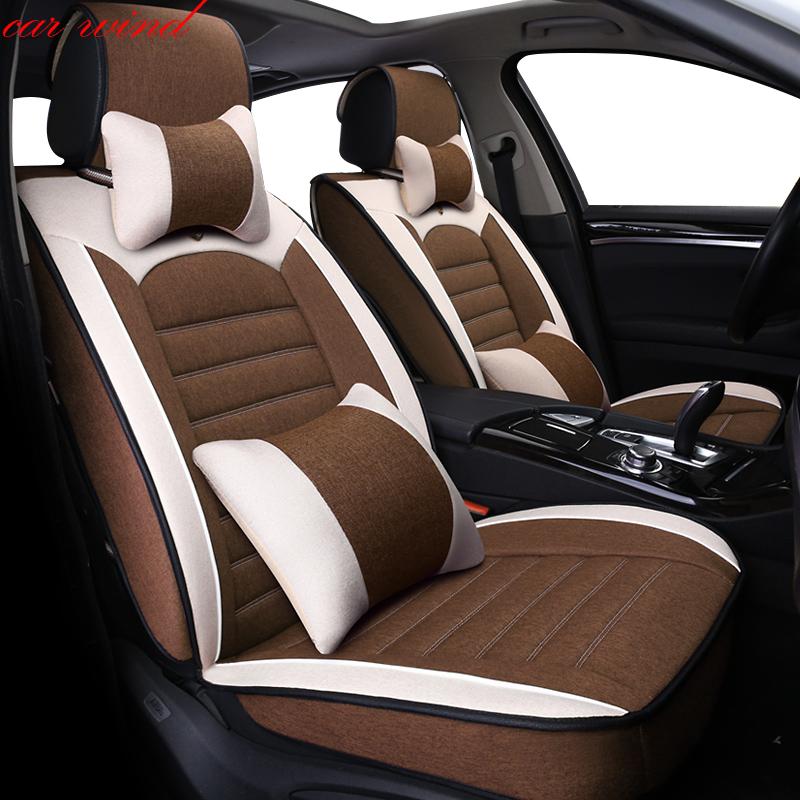 Car Wind Universal Automobiles Seat Covers Auto-covers for seats mitsubisih autlender opel astra h camry 40 car accessories vehicle car accessories auto car seat cover back protector for children kick mat mud clean bk