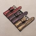 Alça de luxo Qualidade Genuína Pulseira De Couro para relógio 22mm 24mm 26mm Para Homens Pulseira de Substituir