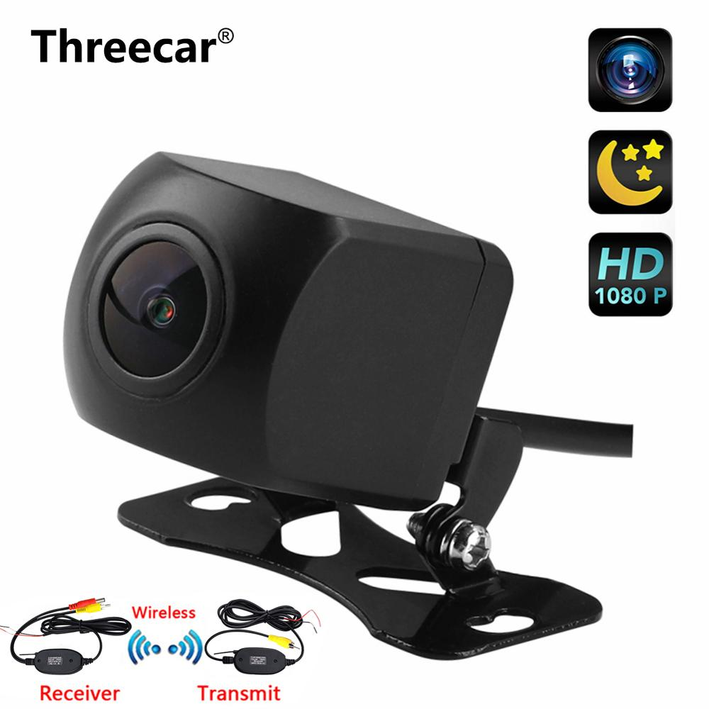170 Degree Fisheye Lens Starlight Night Vision Car Rear View Camera Reversing Backup Camera Mini HD