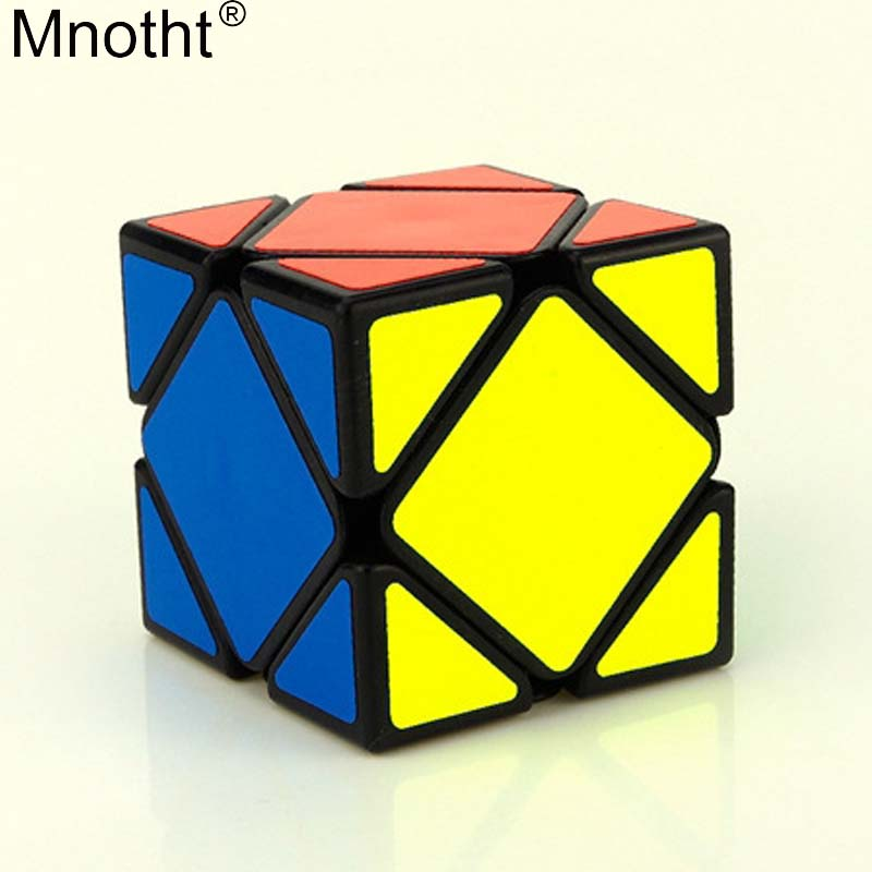 Mnotht Professional Skewb Magic Cube Heteromorphism Block Square Speed Puzzle Game Cubo Brain Teaser Toy for Kids md