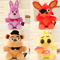 1Pcs Five Nights At Freddy's 4 FNAF Freddy Fazbear Bear Plush Toys Doll 18cm  For Baby Kids Dolls Game Plush Toys Lpt_005