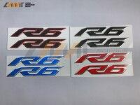 دراجة نارية ملصقات 3d r6 شارة حالة لياماها r6 yzf600 r6 2017-UP 3d شعار