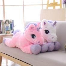 80cm Unicorn Plush Toy Stuffed Toys Brand For Children