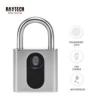 DAYTECH Smart Electronic Lock Fingerprint Door Lock IP65 for Cabinet/Backpack/Cargo/Bike/Luggage
