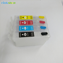 T1901 Refill Ink Cartridges for Epson T1901 - T1904 For Epson ME301 ME303 ME401 WF-2538 WF-2528 wf2548 ME-301 ME-401 printer