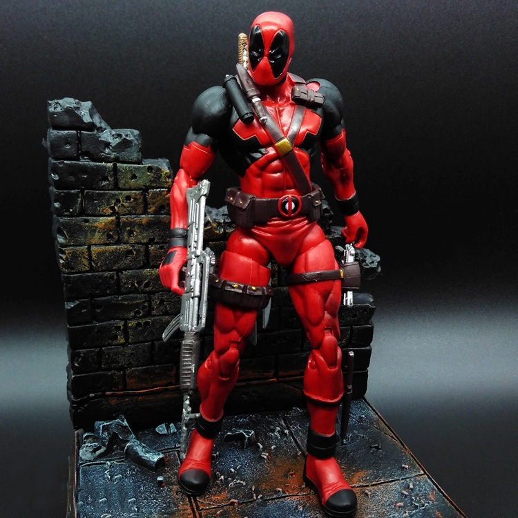 4cf8d3235d3 7 inch Marvel Select Univeres Legends Wade Wilson Deadpool Action Figure-in  Action   Toy Figures from Toys   Hobbies on Aliexpress.com
