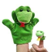 Marioneta Rana + marioneta de dedo