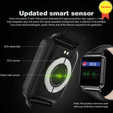 new Bluetooth ECG Smart Watch VS IWO blood pressure sports Heart Rate Pedometer PPT iOS Android  smart wristband