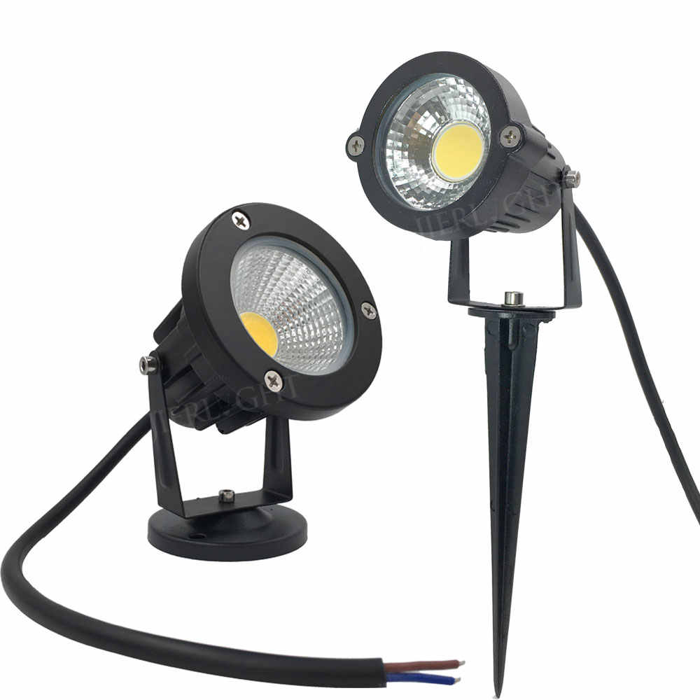 Free shipping led outdoor spotlight 3W 5W 7W 9W led outdoor spotlight christmas lights 12V 110V 220V outdoor christmas spotlight