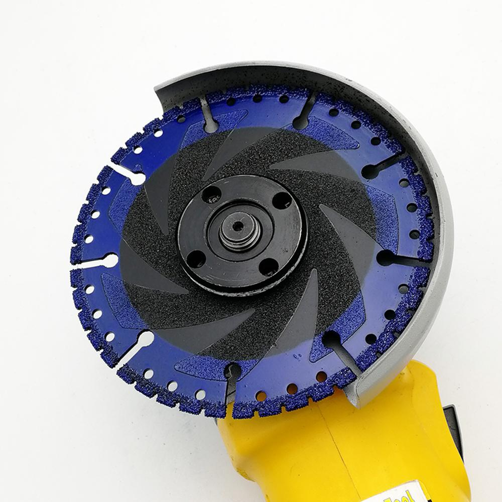 Image 5 - SHDIATOOL 1 pc Vacuum Brazed Diamond blade multi Purpose cutting disc Cast Iron Rebar Aluminum Steel Plastic PVC Stone saw blade-in Saw Blades from Tools