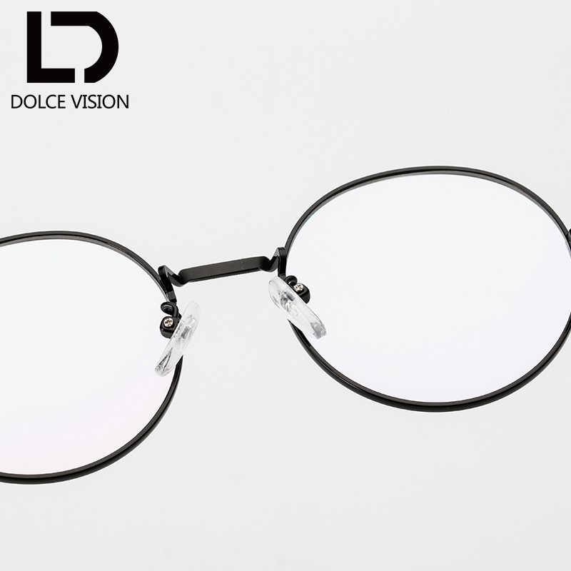 DOLCE VISION Fashion Trend Gold Brillengestell Frauen Carving ...
