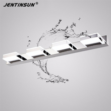 68cm 12W Bathroom Mirror Light Modern Acrylic LED Wall Lights Home Fixture Stainless Indoor Lighting Sconce applique murale led