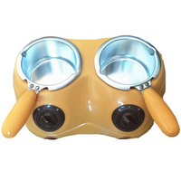 Electric Chocolate Candy Melting Pot Electric Melter Machine Diy Kitchen Tool Yellow Us Plug