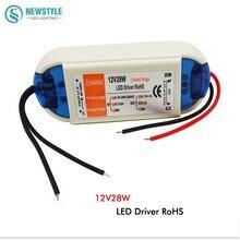 1pcs 12V 28W  led Driver Lighting Transformers high quality power supply AC 90-240V for 12V LED strip free shipping