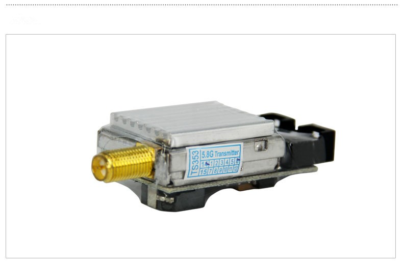 F17958 Boscam FPV 5 8G 400mW 8CH AV Transmitter TS353 For Cheerson CX 20 CX20 DJI