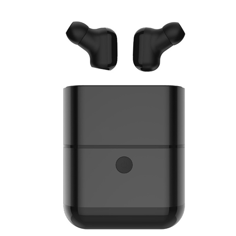 Mini Wireless Bluetooth Earphones Invisible Stereo Earbud Waterproof Headphone With Carring Case For Android iOS PC Phones mini true bluetooth earphones twins v 4 1 stereo earbud wireless headset sport invisible waterproof headphone with charger box