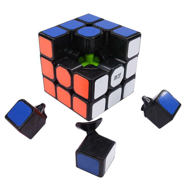 Qiyi Mofangge QiHang W Magic Cube 3x3 5.6 CM Speed Cube  Sail Cubo Magico Educational Puzzle Cube Toys for Children 1