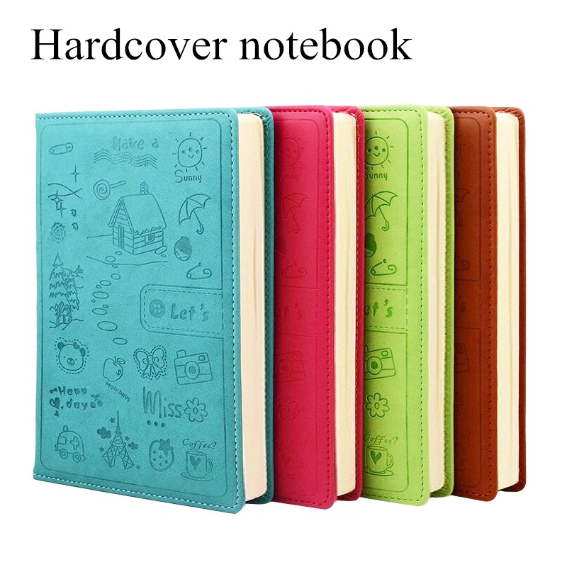 Creative Notebook Stationery Notepad Diary Business Skin Cartoon A5 a6 Student in Notebooks from Office School Supplies