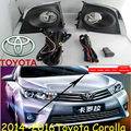 car-styling,Corolla halogen light2014~2015,Free ship!2pcs/set,Corolla fog light;car-covers,Corolla headlight
