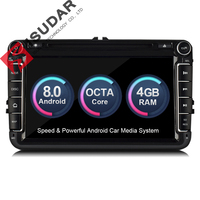 Isudar Car Multimedia Player Android 8 0 GPS 2 Din Car Radio Audio Auto For VW