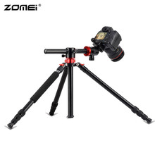 Zomei M8 Professional Camera Tripod 75-inch Portable Compact Aluminum GO System Tripod With Ball Head for Canon Nikon Sony DSLR zomei z699c carbon fiber camera tripod stand lightweight portable with ball head travel tripode for canon sony nikon dslr camera