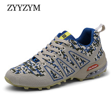 ZYYZYM Men Fashion Sneakers Spring Autumn Casual Shoes New Arrival Ventilation Camouflage Outdoors Tourism