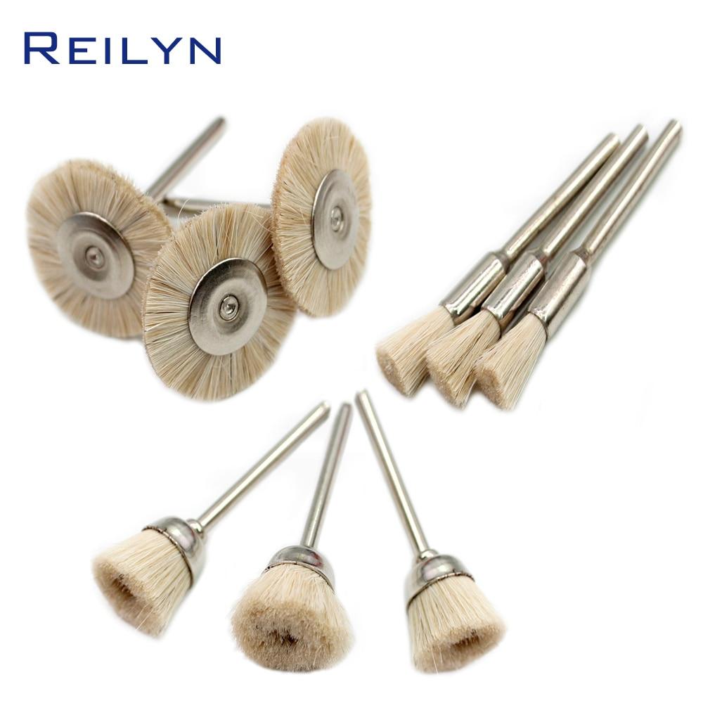 Fake Wool Brush Roller Polishing Wheel  Wool Polisher Soft Brush Polishing Roller For Dremel Rotary Tool