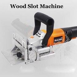 Biscuit joiner elektronarzędzie maszyna do obróbki drewna czopiarka maszyna do ciastek Puzzle maszyna Groover silnik miedziany