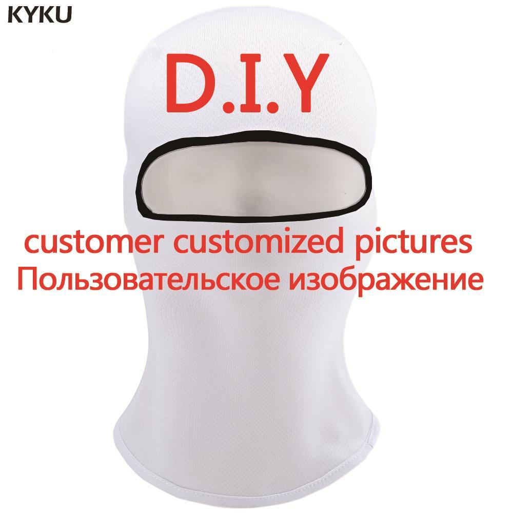 KYKU Customize   Skullies     Beanies   Men Balaclava Custom Pictures Hats Military Face 3d Printed   Beanie   DIY Cool Mens   Beanie