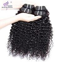 Modern Show Hair Brazilian Deep Wave Hair Bundles Deal 100% Human Hair Extension 3 and 4 Bundles Available NonRemy Free Shipping