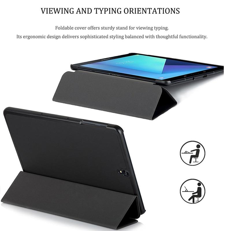 CucKooDo for Samsung Tab S3 9.7, Ultra Kerge Slim Nutikas Kaanekott - Tahvelarvutite tarvikud - Foto 3