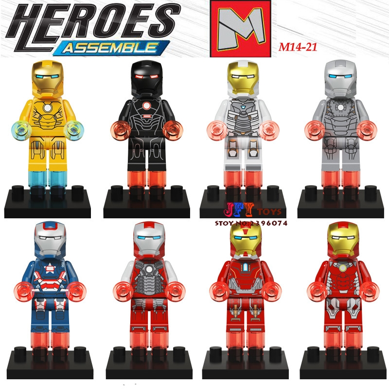 80pcs starwars superhero building blocks M14-21 Series bricks friends for girl boy house games kids children toys iluminador