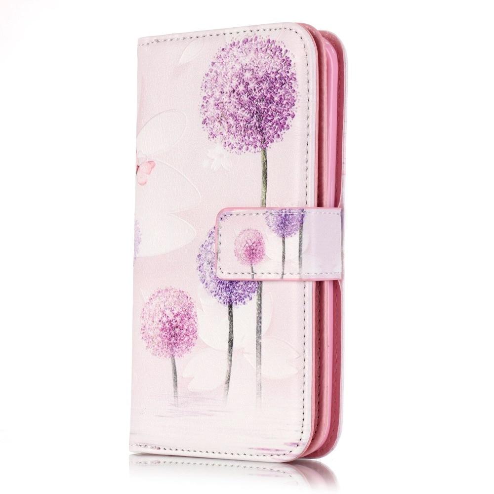 Para coque samsung galaxy s6edge 3d caso de silicio billetera de cuero para flip