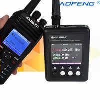 SURECOM-Medidor de frecuencia SF401 plus, contador de frecuencia de 27Mhz-3000Mhz, medidor portátil de frecuencia de Radio con CTCCSS/decodificador DCS