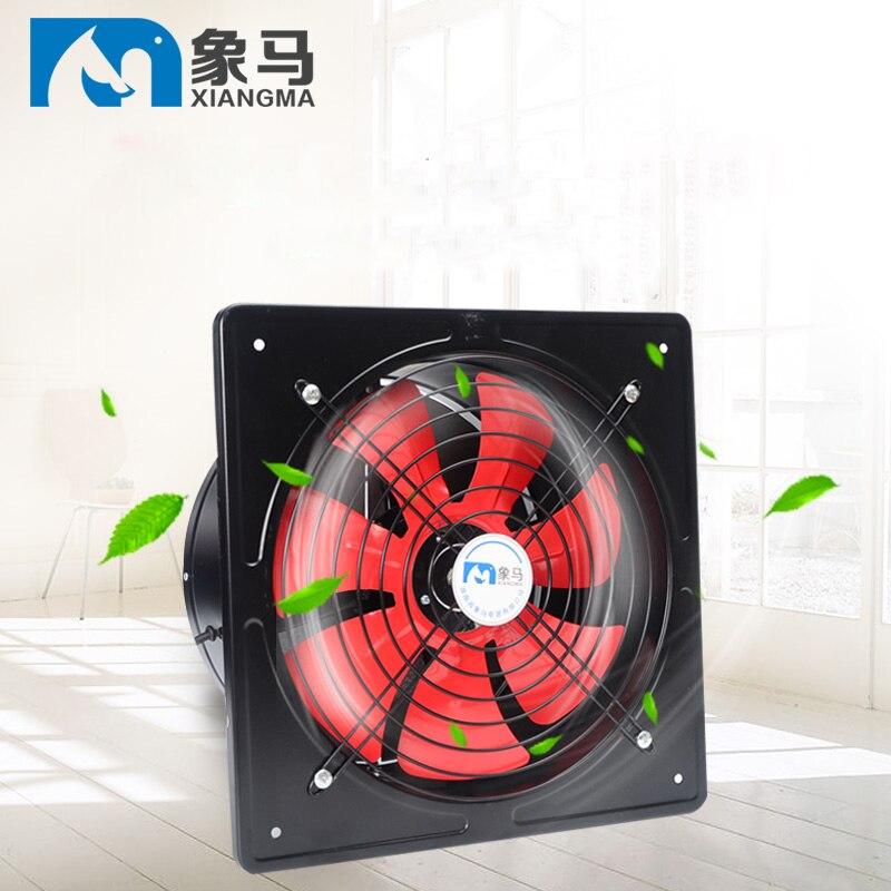 Ventilateur de salle de bain ventilateur mural 10 pouces ventilateur d'échappement hotte de cuisine ventilateur fort muet
