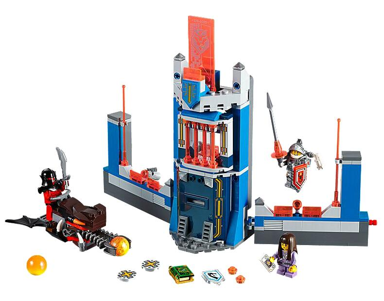 LEPIN Nexo Knights Merlock's Library 2.0 Combination Marvel Building Blocks Kits Toys  Compatible Legoe Nexus