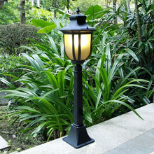 HAWBOIRRY Modern LED Waterproof Garden Outdoor Installation Lawn Lights Lighting European Park Villa Vertical Light
